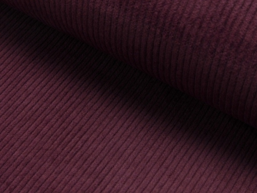 SALE Cord Stretch Bordeaux